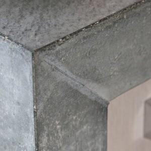 Hollands maatwerk eikenhouten keuken - Bekleed beton ...