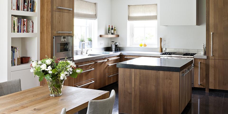 Keuken Steigerhout Wit : massief eikenhouten keuken massief gebakken eikenhouten keuken met