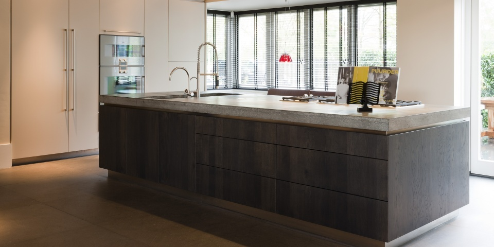 Greeploze Keuken Met Kookeiland : 2015 Hollandsmaatwerk.nl Webdesign: Neway Media