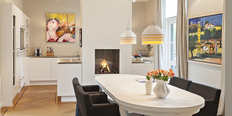 Strakke Witte Keuken In Oisterwijk : Hollands Maatwerk: Moderne Keuken